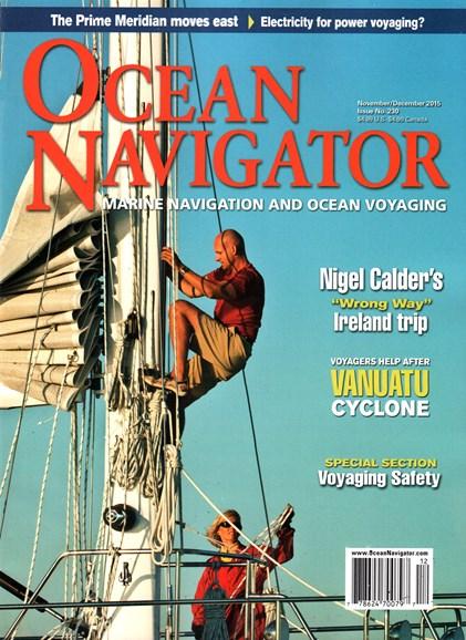 Ocean Navigator Cover - 11/1/2015