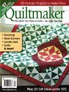 Quiltmaker Magazine 11/1/2015