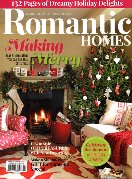 Romantic Homes Cover - 11/1/2015
