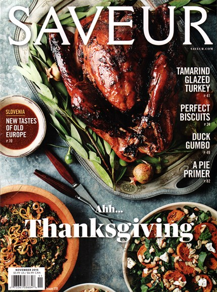 Saveur Cover - 11/1/2015
