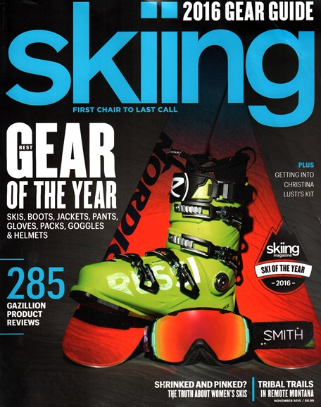 Skiing Cover - 11/1/2015