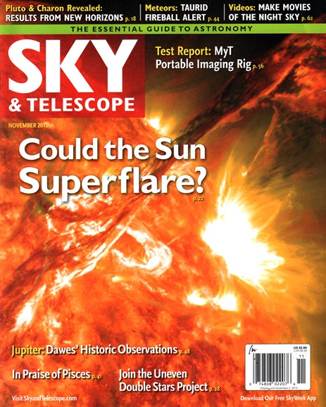 Sky & Telescope Cover - 11/1/2015