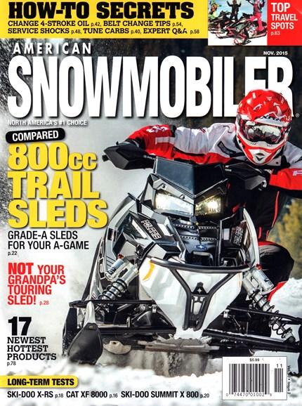 American Snowmobiler Cover - 11/1/2015