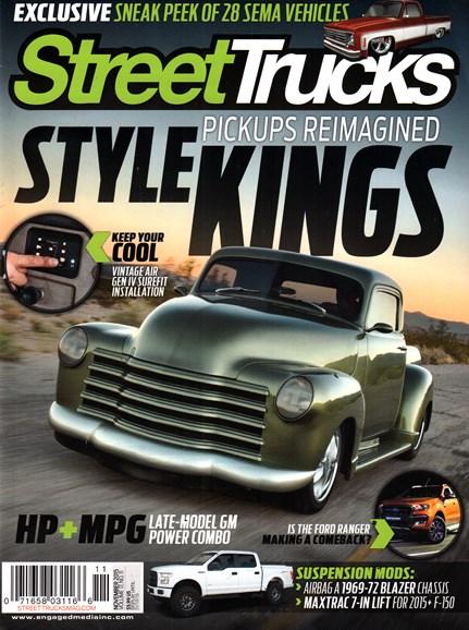 Street Trucks Cover - 11/1/2015