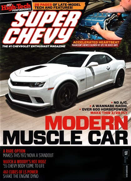 Super Chevy Cover - 11/1/2015