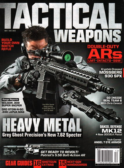 Tactical Life Cover - 11/1/2015