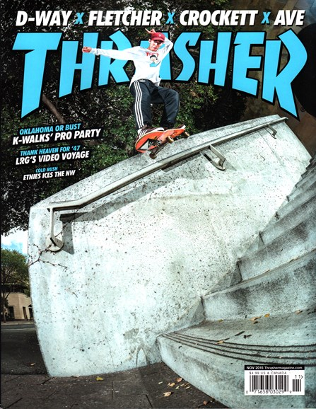 Thrasher Cover - 11/1/2015