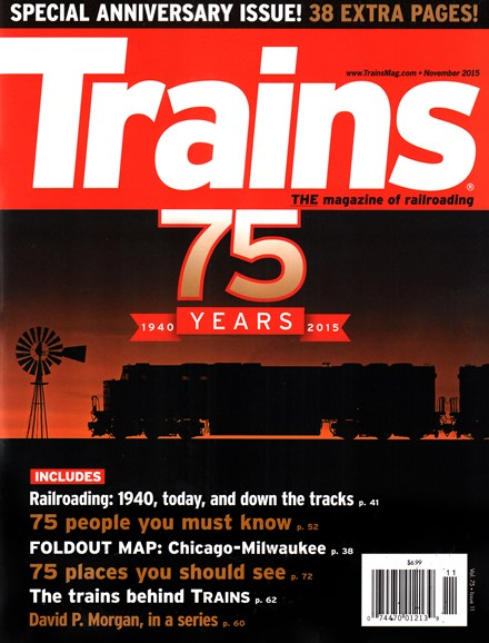 Trains Cover - 11/1/2015