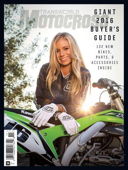 Transworld Motocross Cover - 11/1/2015