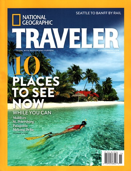 National Geographic Traveler Cover - 11/1/2015