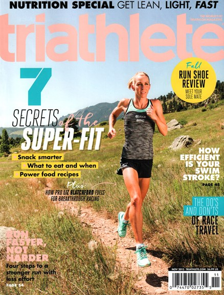 Triathlete Cover - 11/1/2015