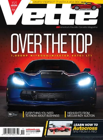 Vette Cover - 11/1/2015