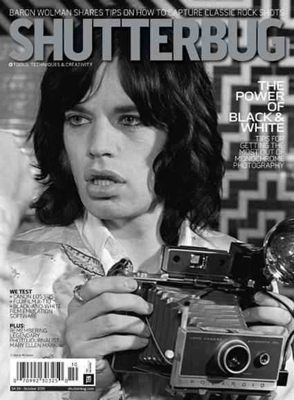 Shutterbug Cover - 10/1/2015