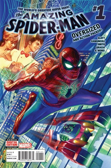 Amazing Spider-Man Cover - 12/1/2015