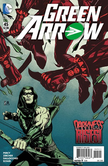 Green Arrow Cover - 12/1/2015