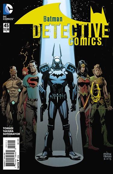 Detective Comics Cover - 12/1/2015