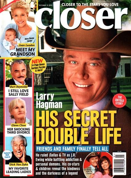 Closer Cover - 10/12/2015