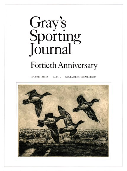 Gray's Sporting Journal Cover - 11/1/2015