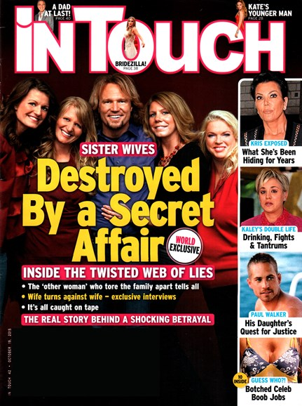In Touch Weekly Cover - 10/19/2015