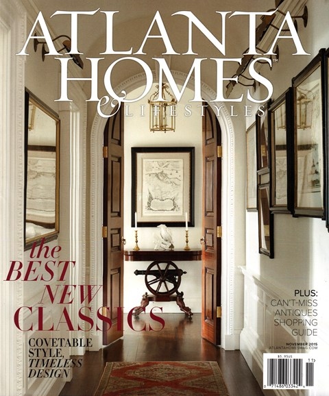 Atlanta Homes & Lifestyles Cover - 11/1/2015