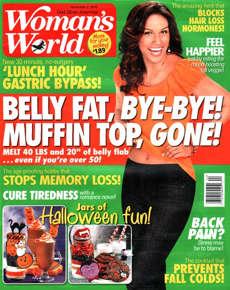 Woman's World Cover - 11/2/2015