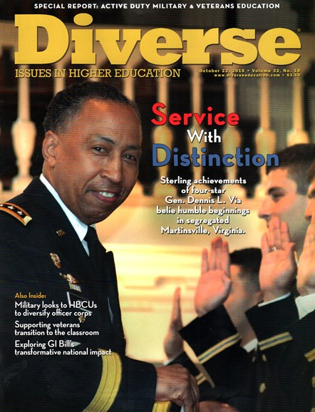Diverse: Issues In Higher Education Cover - 10/22/2015