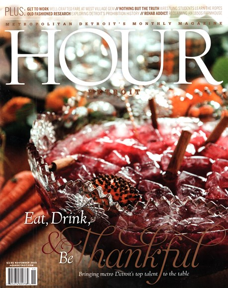 Hour Detroit Cover - 11/1/2015