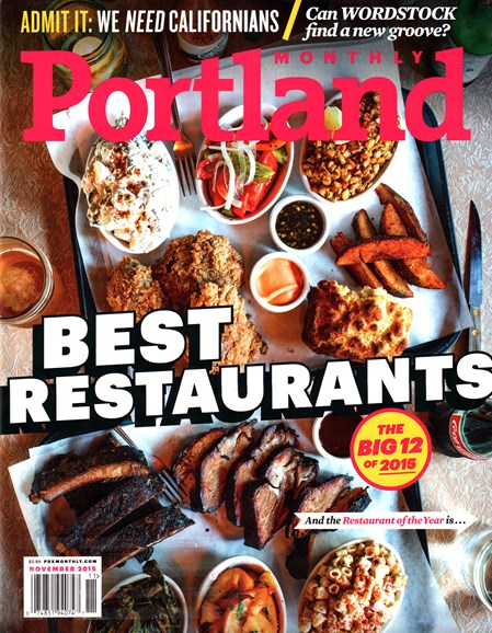 Portland Monthly Cover - 11/1/2015