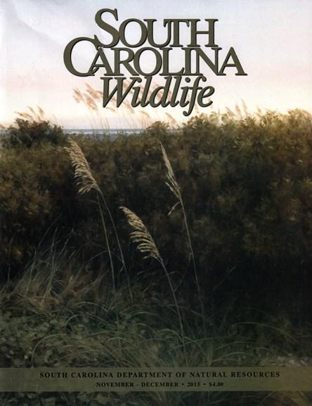 South Carolina Wildlife Cover - 11/1/2015