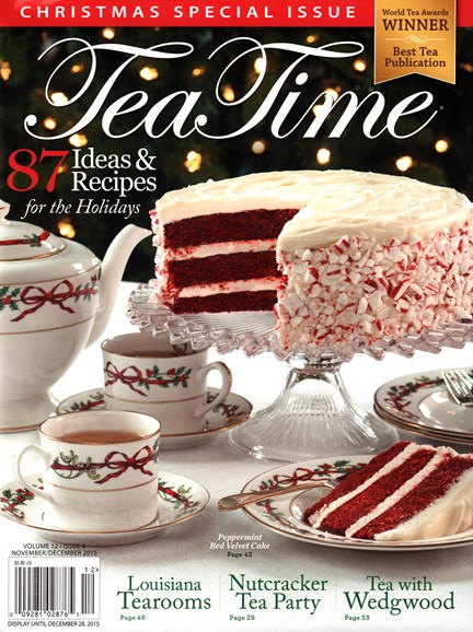 Tea Time Cover - 11/1/2015