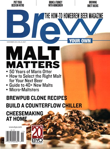 Brew Your Own Cover - 11/1/2015