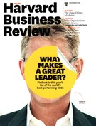 Harvard Business Review Magazine 11/1/2015