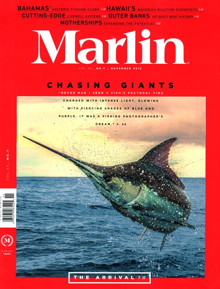 Marlin Cover - 11/1/2015