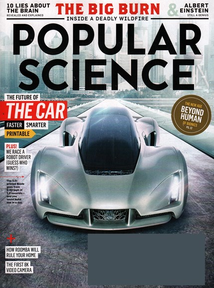 Popular Science Cover - 11/1/2015