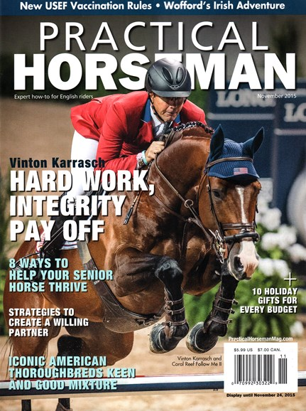Practical Horseman Cover - 11/1/2015