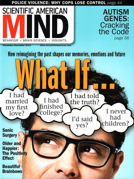 Scientific American Mind Cover - 11/1/2015