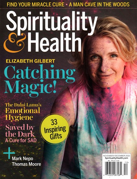 Spirituality & Health Cover - 11/1/2015