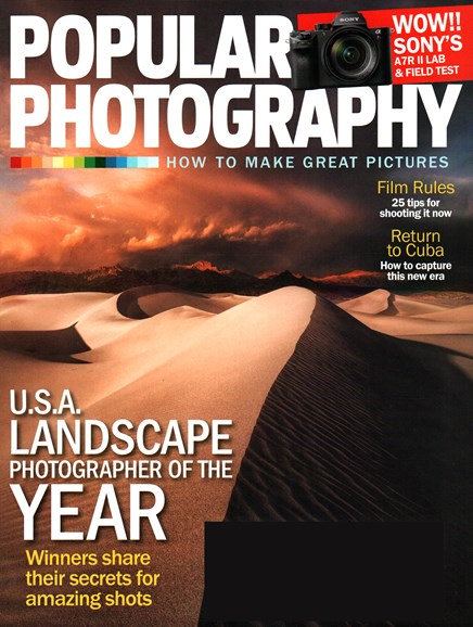 Popular Photography Cover - 11/1/2015