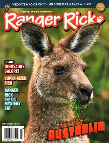 Ranger Rick Cover - 11/1/2015