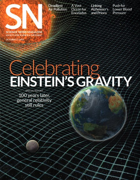 Science News Cover - 10/17/2015