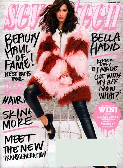 Seventeen Cover - 11/1/2015