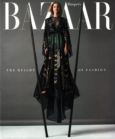 Harper's Bazaar Cover - 11/1/2015