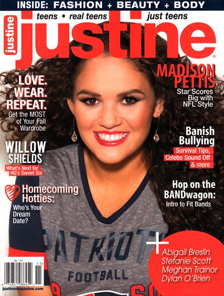 Justine Cover - 10/1/2015