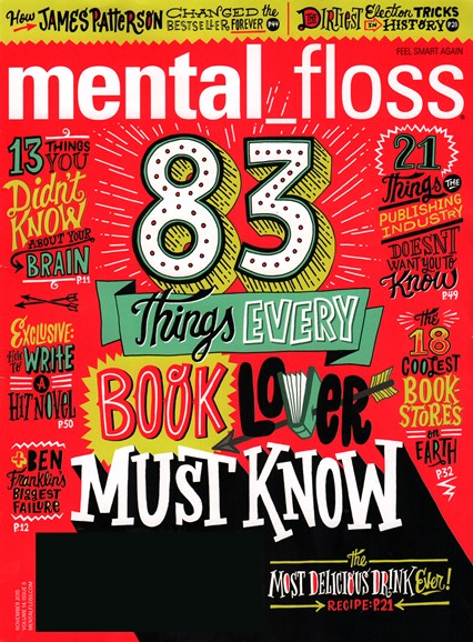 Mental Floss Cover - 11/1/2015