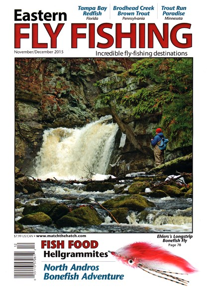 Eastern Fly Fishing Cover - 11/1/2015