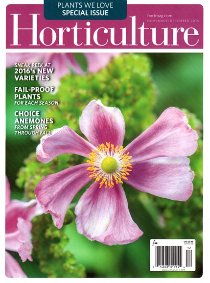 Horticulture Cover - 11/1/2015