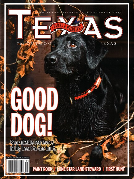 Texas Parks & Wildlife Cover - 11/1/2015