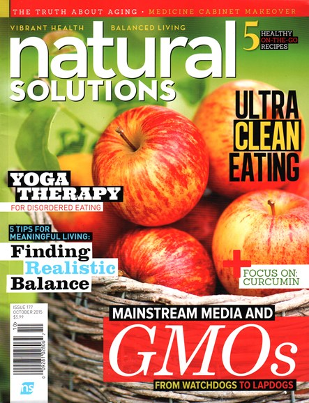 Natural Solutions Cover - 10/1/2015