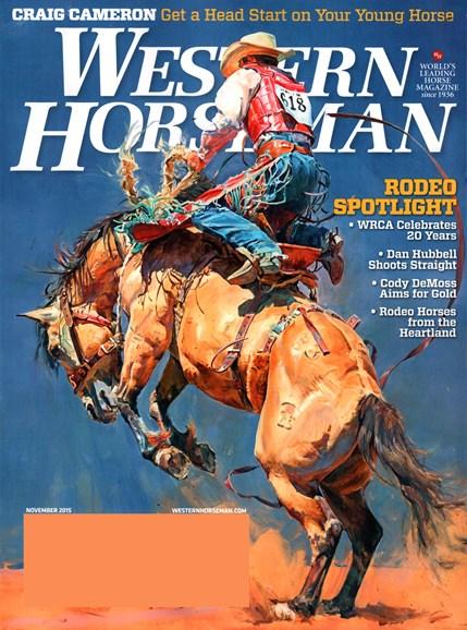 Western Horseman Cover - 11/1/2015
