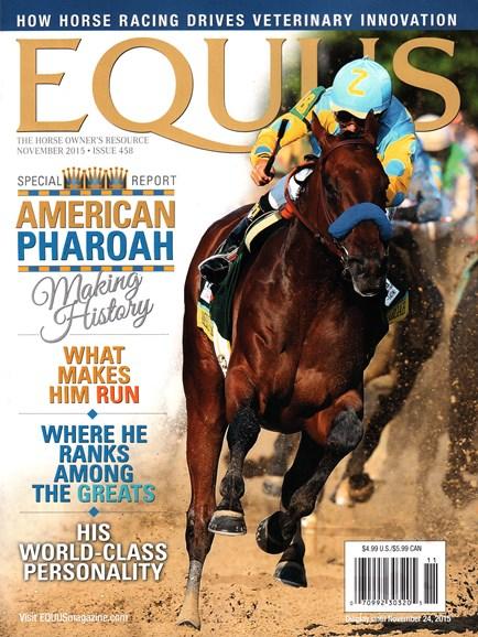 Equus Cover - 11/1/2015